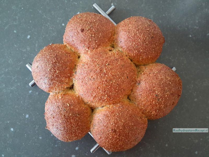 recept psyllium broodjes