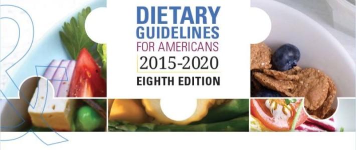 Nieuwe Amerikaanse voedings richtlijnen