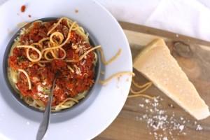 Snelle Pasta Bolognese saus